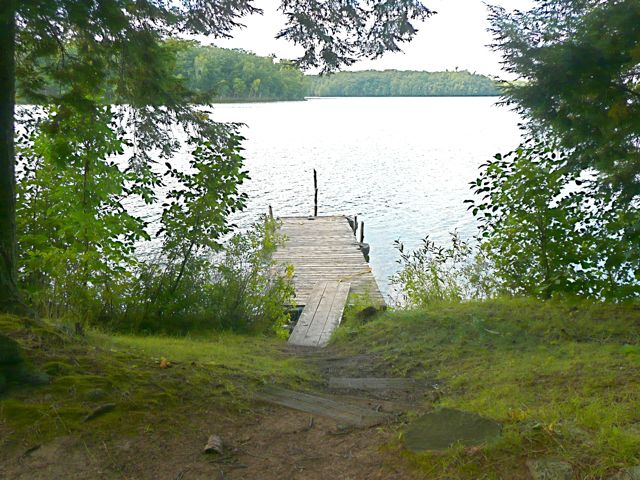 Yellow Birch dock access