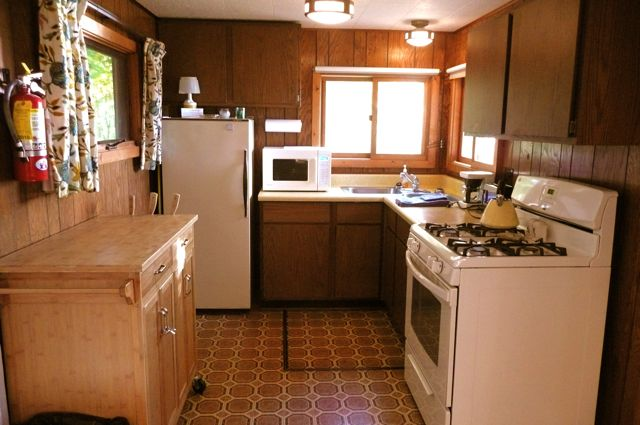 Yellow Birch kitchen